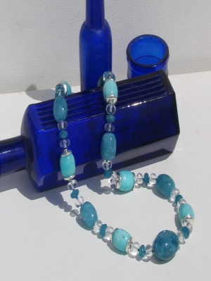 blue_dyed_agate_amazonite_and_clear_quartz